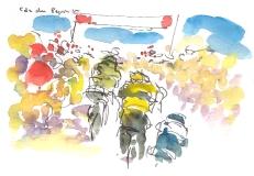 Nibali breaks