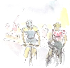 Voeckler steams ahead