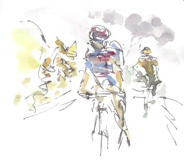 Racing through the fog