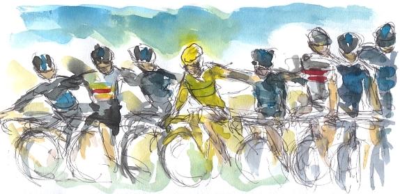 cycling art, tour de france, tdf2012,