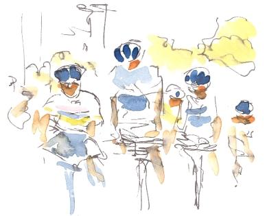 Sky boys on the outskirts of the City