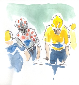 King of the mountains and Yellow Jersey