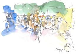 The peloton