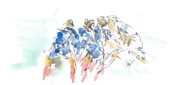 Italy vs France - scrum