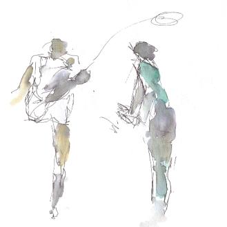 Kick the ball away!