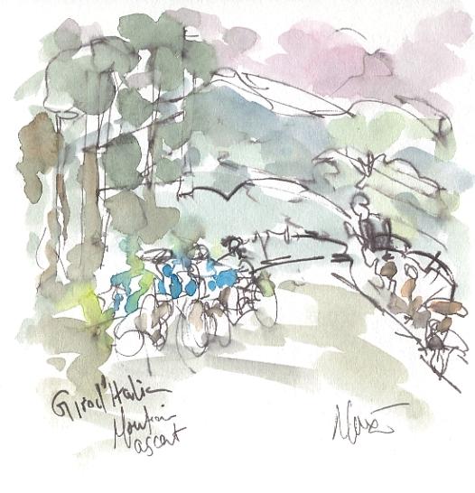 Maxine Dodd Giro, Mountain Ascent,