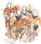 SOLD - Euskaldel Euskadi - Tangerine Dreams! by Maxine Dodd, SOLD