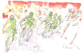 Cannondale come in for the finish, by Maxine Dodd