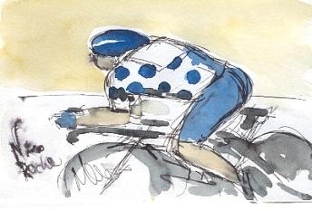 Nicolas Roche pushing forward