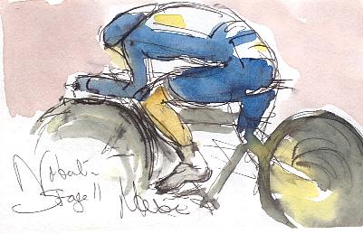 Nibali driving hard