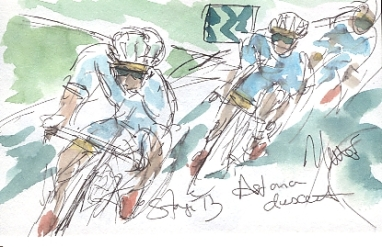 Astana descent, by Maxine Dodd