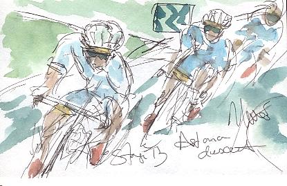 Astana descent, by Maxine Dodd
