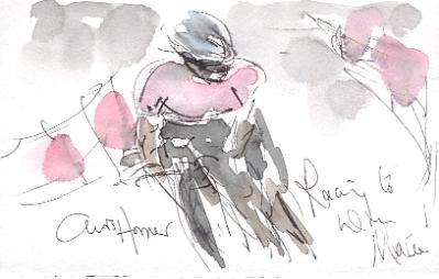 Chris Horner racing to win