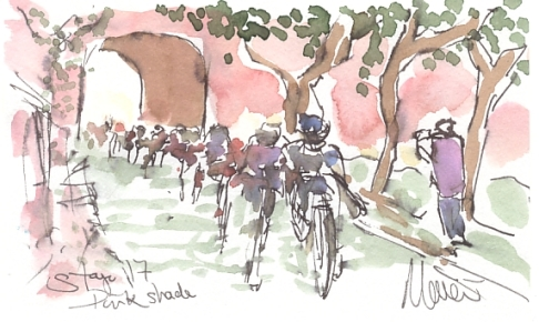 cycling, art
