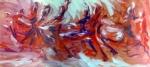 SOLD, Danza del Fuego, by Maxine Dodd, oil on canvas