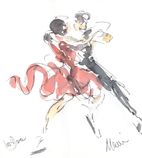 Quickstep in Red and Black
