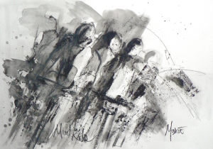 SOLD - Mudriders by Maxine Dodd, SOLD