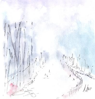 Sochi fog