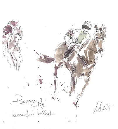 Pineau de Re, leaves them behind