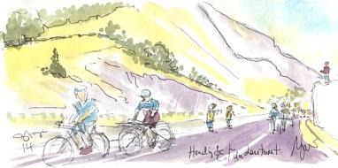 Heading for Col du Lautaret
