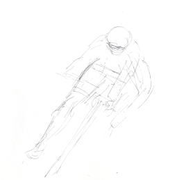 Maxine Dodd, study drawing, cornering