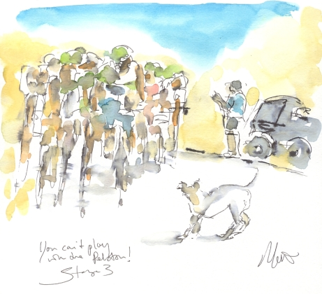 Maxine Dodd, You can't play with the peloton!