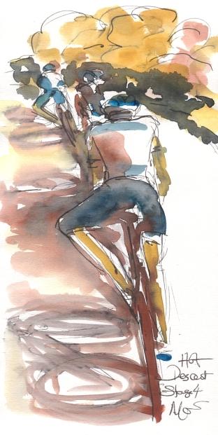 Maxine Dodd, Hot descent!