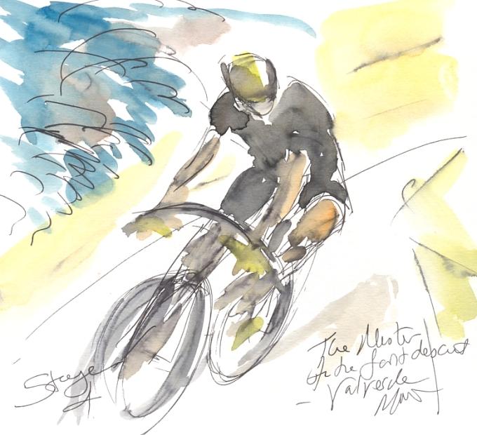 Maxine Dodd, Valverde, The master of the fast descent