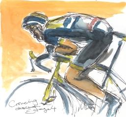 Maxine Dodd, Crouching descent