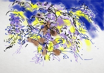 Wisteria magic by Maxine Dodd