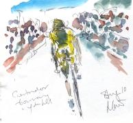 Maxine Dodd, Contador bouncing uphill