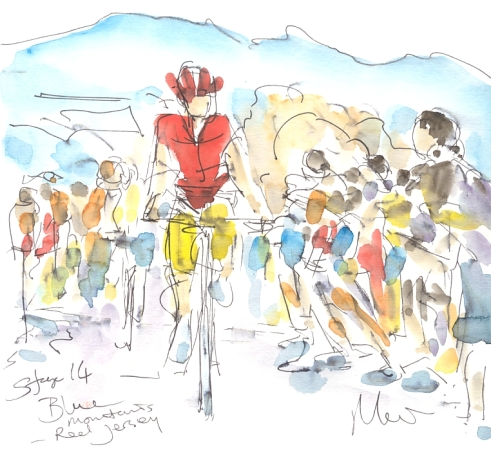 Maxine Dodd, Red Jersey, Blue Mountains