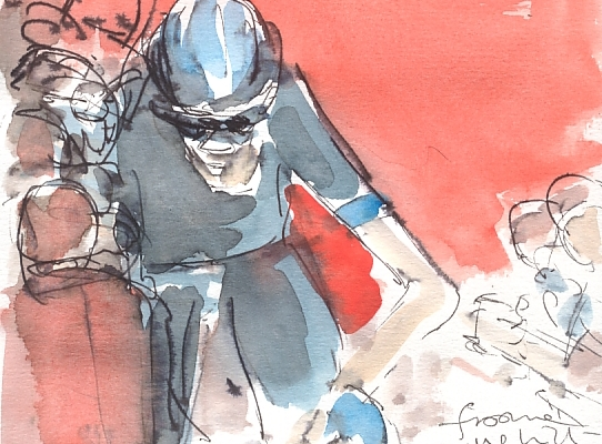 Maxine Dodd, Froome uphill