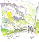 Maxine Dodd, Purple and green