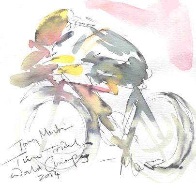 Tony Martin racing