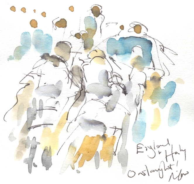 Onslaught! England vs Italy