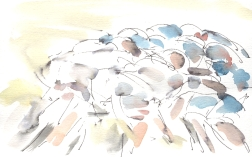 Big scrum, England v France