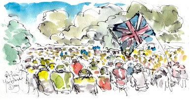 A fine Yorkshire day, by Maxine Dodd