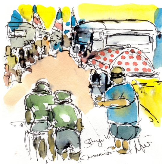Caravanners, by Maxine Dodd