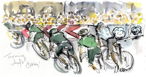 Left turn, Otley! by Maxine Dodd