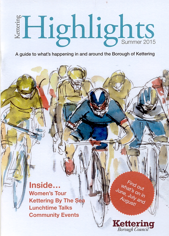 The cover of Kettering Highlights Magazine