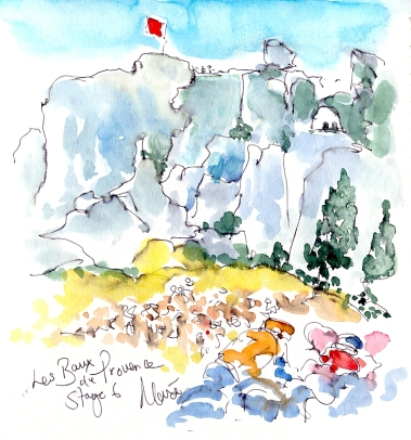 Les Baux de Provence by Maxine Dodd