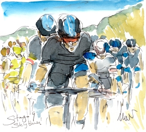 Sky blues, CYCLING ART