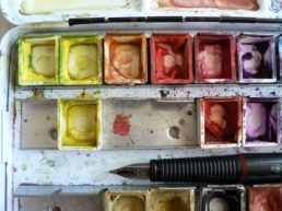 Much-loved Schmincke HORADAM® watercolours My much-loved Schmincke HORADAM® watercolours and Rotring ArtPen