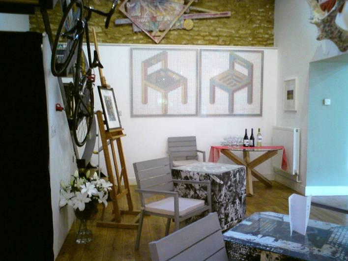 Lower Gallery looking to Upper Gallery