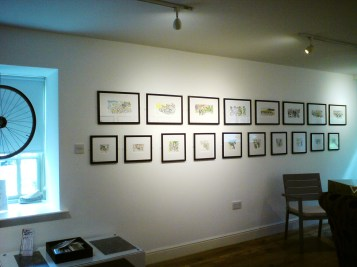 Lower Gallery at jGallery, Moulton, Northamptonshire
