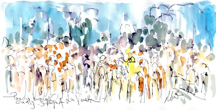 Passing through Cadiz, Stage 4, by Maxine Dodd