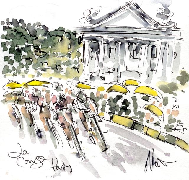 La Course, Paris, by Maxine Dodd