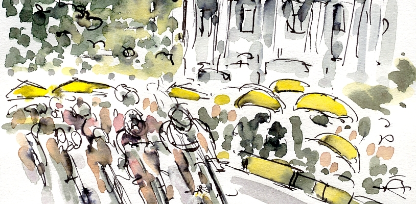 La Course, Paris, by Maxine Dodd
