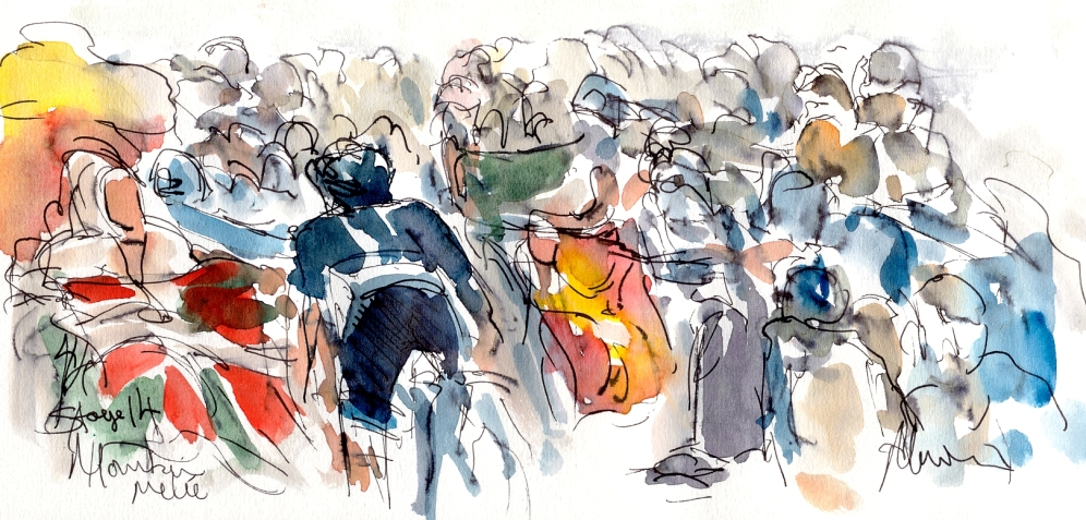 La Vuelta, Stage 14, Mountain melee! by Maxine Dodd
